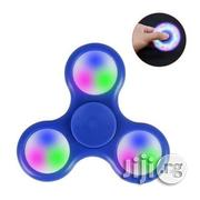 Fidget Spinner With Led Light - Red, Blue, Black | Toys for sale in Lagos State