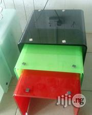 3 In 1 Pinging Glass Stool | Furniture for sale in Lagos State, Lekki Phase 1