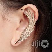 Angel Wings Feather Golden Ear Cuff Clip | Jewelry for sale in Lagos State, Shomolu