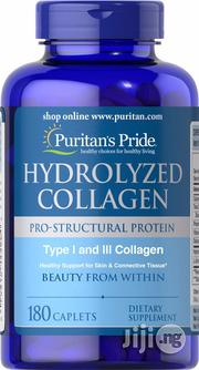 Puritans Pride Hydrolyzed Collagen For Hair, Skin, Nails And Joints | Vitamins & Supplements for sale in Lagos State, Lekki Phase 2