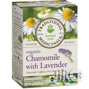 Traditional Medicinals Organic Chamomile With Lavender Herbal Tea, 16 | Vitamins & Supplements for sale in Lagos State