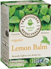 Traditional Medicinals Organic Lemon Balm Tea, 16 Tea Bags | Vitamins & Supplements for sale in Lagos State