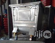 500 Litre Galvanised Steel Wheeled Recycling Waste/Garbage Container | Manufacturing Equipment for sale in Lagos State