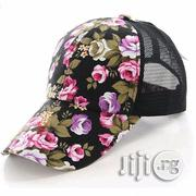 Womens Floral Baseball Cap - Black | Clothing Accessories for sale in Lagos State, Lekki Phase 2
