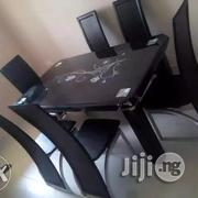 High Quality Glass Dining Table With Chairs   Furniture for sale in Lagos State, Agege