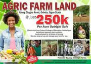 Cheap Farm Land for Sale at Abeokuta 250k Per Acre | Land & Plots For Sale for sale in Ogun State, Odeda