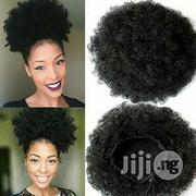 Afro Kinky Curly Wrap Drawstring Puff Ponytail Hair Extensions Wig | Health & Beauty Services for sale in Lagos State, Lagos Island