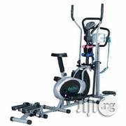 5 in 1 Multi Function Elliptical Bike With Stepper, Dumbbells, Twister Massager | Massagers for sale in Lagos State, Surulere