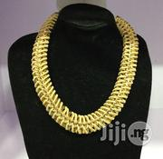 Braided Leather Gold Chain Necklace College Gift | Jewelry for sale in Lagos State