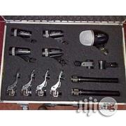 Universal Universal Professional Yoga 7pc Drum Mic With Clips | Musical Instruments & Gear for sale in Lagos State