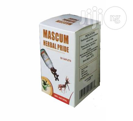 Gain That Sexual Vigor With The Use Of Mascum Herbal Pride Men Only
