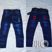 Usa Polo Assasin Blue Boy Jeans Wholesale Available | Children's Clothing for sale in Lagos State, Amuwo-Odofin