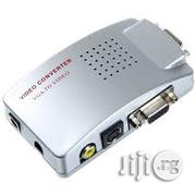 New VGA to AV Composite Converter RCA S-Video Signal Switch Box | Accessories & Supplies for Electronics for sale in Abuja (FCT) State, Wuse