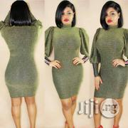 Fitted Mini Gown With Puff Hand | Clothing for sale in Lagos State, Ikoyi