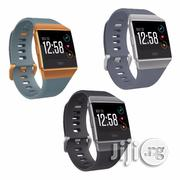 Fitbit Ionic Fitness Watch (Charcoal/Smoke Gray)FB503GYBK | Smart Watches & Trackers for sale in Lagos State, Ikeja