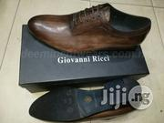 Brown Laceup Corporate Shoes by Giovanni Ricci | Shoes for sale in Lagos State, Lagos Island