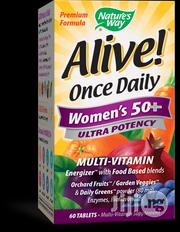 Nature's Way, Alive! Once Daily, Women's 50+ Multi-vitamin, 60 Tablets | Vitamins & Supplements for sale in Lagos State, Surulere