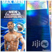 Max Man Penis Enlargement And Long Lasting Oil | Sexual Wellness for sale in Lagos State, Ojo