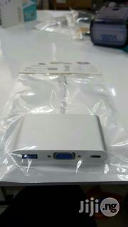 Usb3.1C to Usb/Vga/Usbc Multiport Adapter | Accessories & Supplies for Electronics for sale in Lagos State, Ikeja