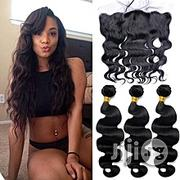 Royalty 9A Grade Lace Frontal Closure With Bundles Peruvian Virgin Hum | Hair Beauty for sale in Lagos State, Lagos Island