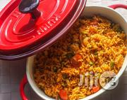 Well Packed Jollof Rice With 2 Beef For 100 Guests | Meals & Drinks for sale in Lagos State