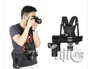 Micnova MQ-MSP01 Multi Camera Carrying Chest Harness System Vest | Photo & Video Cameras for sale in Lagos State, Lagos Island