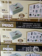 Prag 15kva Central Stabilizer Wall Mount Input   Electrical Equipment for sale in Lagos State, Ikeja