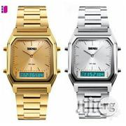 Skmei Man and Women Stainless Steel Multifunctional Pointer Display   Watches for sale in Lagos State, Ikeja