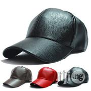 Leather Face Cap Available In Different Colours (Wholesale Only) | Clothing Accessories for sale in Lagos State