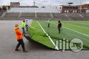 Available, Synthetic Artificial Grass/Turf For Football Field | Garden for sale in Lagos State, Ikeja