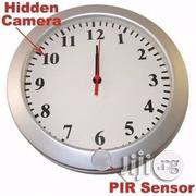 High Definition Spy Camera Wall Clock | Security & Surveillance for sale in Lagos State, Ikeja