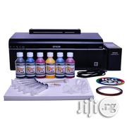 Sublimation Printer Bundle Epson Ecotank L805   Printers & Scanners for sale in Lagos State, Ikeja