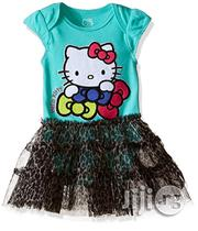 Hello Kitty Baby Girls' Bodysuit Tutu Dress- Green/Multi | Children's Clothing for sale in Lagos State