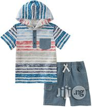 Kids Headquarters Hooded Shirt and Short | Children's Clothing for sale in Lagos State, Surulere