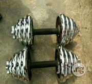 30 Kg Dumbell 15 Kg Each Hand | Sports Equipment for sale in Ebonyi State, Afikpo North
