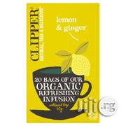 Organic Lemon & Ginger Infusion Tea 20 Bags | Meals & Drinks for sale in Lagos State, Ikeja