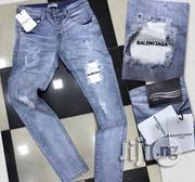 Balenciaga Mens Jeans Blue | Clothing for sale in Lagos State, Ikeja