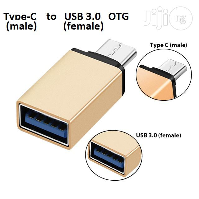 Type-c To USB USB 3.0 Super Speed OTG Adapter | Computer Accessories  for sale in Ikeja, Lagos State, Nigeria