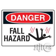 Site Safety Signs DANGER HAZARD SIGN | Safety Equipment for sale in Lagos State, Agboyi/Ketu