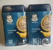 Gerber Oatmeal Banana Baby Cereal | Baby & Child Care for sale in Lagos State, Ikeja