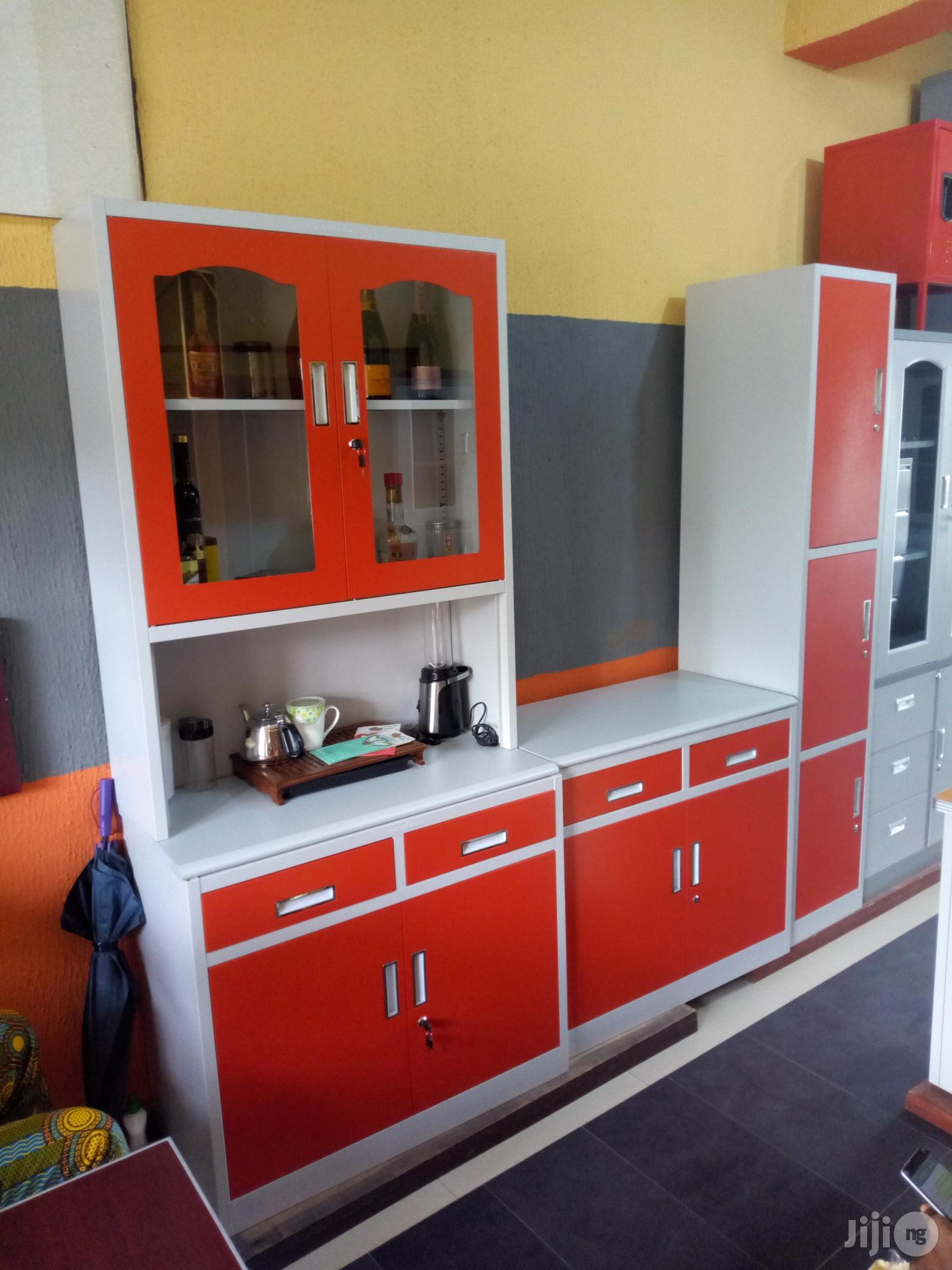 Strong and Reliable Metal Kitchen Cabinets Brand New in ...