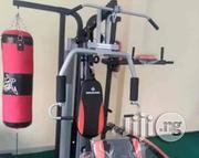 3 Station Home Gym With Boxing Bag | Sports Equipment for sale in Kaduna State, Zango-Kataf