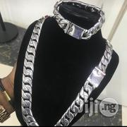Cuban White Gold Heavy Neck Chain | Jewelry for sale in Lagos State, Ojo