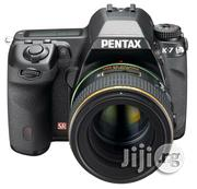 Pentax K-7 14.6 MP Digital SLR With Shake Reduction And 720p HD Video With DA 18-55mm F/3.5-5.6 AL Weather Resistant Lens | Photo & Video Cameras for sale in Lagos State, Ikeja