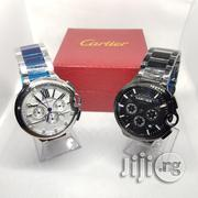 Main Original Cartier Wristwatch With Chronograph and Date.   Watches for sale in Lagos State, Lagos Island