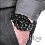 Emporio Armani Black Chain Wristwatch | Watches for sale in Lagos State, Ikeja