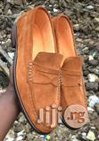 001 Wear. Brown Suade Loafers Shoe | Shoes for sale in Lagos Island, Lagos State, Nigeria
