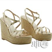 Mango High Wedge Heel Sandals | Shoes for sale in Lagos State, Lekki Phase 1