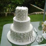 3 Tiers All White Wedding Cake | Wedding Venues & Services for sale in Abuja (FCT) State, Kubwa