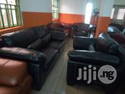 Imported Sofa Chair' With Good Leather | Furniture for sale in Lagos State, Ajah